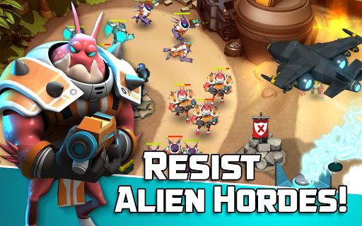 Alien Creeps TD - Epic tower defense 2.31.2 Screenshots 14