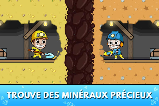 Code Triche Idle Miner Tycoon - Manager de Mine APK MOD (Astuce) screenshots 2