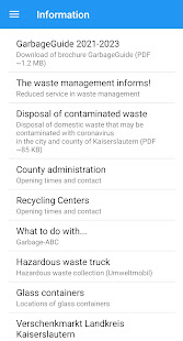 Garbage Guide KL County