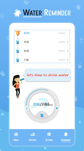 Drink Water Reminder & Tracker for Hydration