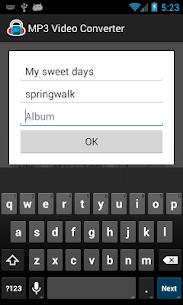Baixar MP3 Video Converter Mod Apk 3
