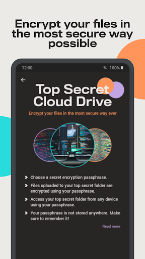 Degoo: 100 GB Cloud Storage apktram screenshots 3