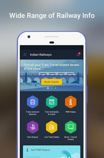 Indian Railway & IRCTC Info app 5.3.9 screenshots 2