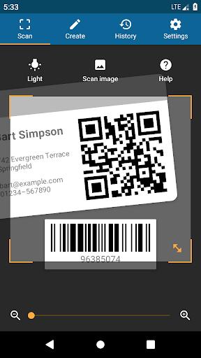 QRbot: QR & barcode reader android2mod screenshots 1