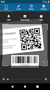 QRbot: QR & barcode reader v2.7.1 [Unlocked] [Mod] 1