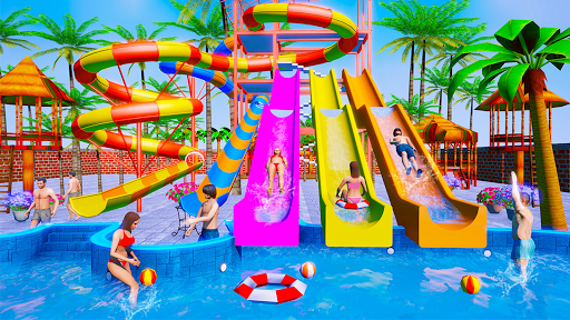 Water Sliding Adventure Park - Water Slide Games apktreat screenshots 2