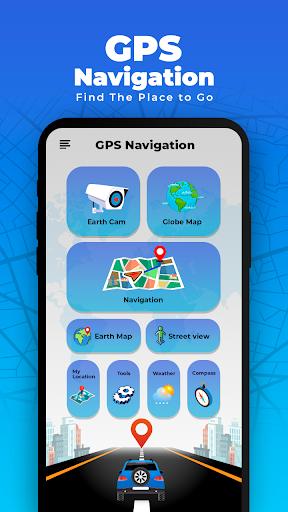 GPS Navigation Globe Map 3d screenshots 1