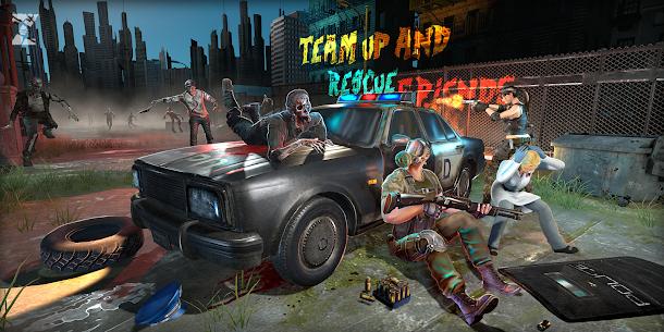 Mort Zombie Shooter: țintă Zombie Jocuri 3D 3