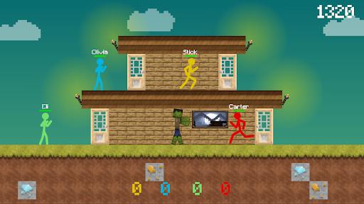 Stickman vs Multicraft: Survival Craft Pocket  screenshots 6