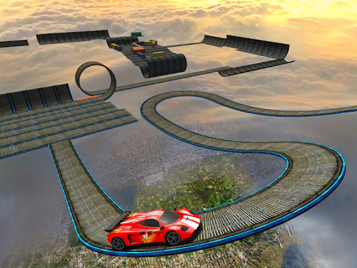 Impossible Stunt Car Tracks 3D modavailable screenshots 12