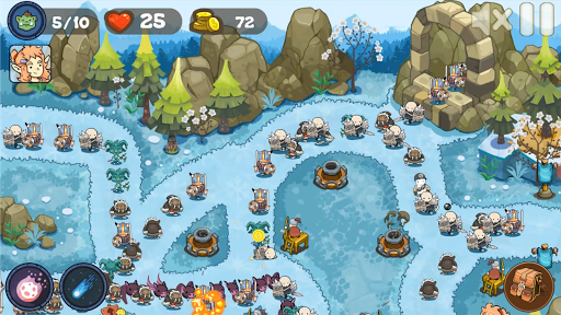 Tower Defense Realm King: Epic TD Strategy Element Apkfinish screenshots 24