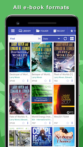 Librera - reads all books, PDF Reader 8.3.109 Screenshots 1