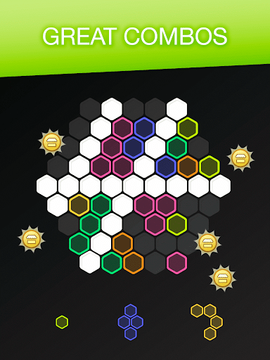 Hex FRVR - Drag the Block in the Hexagonal Puzzle screenshots 15