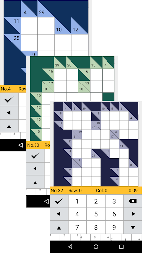 Kakuro Logic Puzzles 1.108 screenshots 1