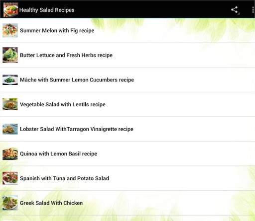 Healthy Salad Recipes For PC Windows (7, 8, 10, 10X) & Mac Computer Image Number- 6