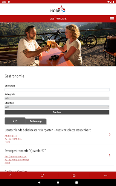 Horb-App screenshot 7