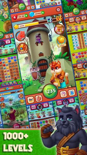Cat Heroes - Color Match Puzzle Adventure Cat Game  screenshots 5