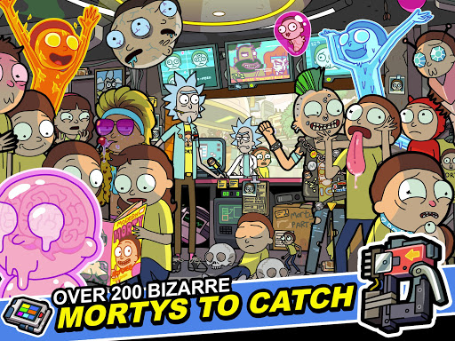 Rick and Morty: Pocket Mortys apkslow screenshots 11