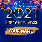 Happy New Year Name Dp Maker 2021
