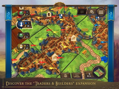 Carcassonne: Official Board Game -Tiles & Tactics Screenshot
