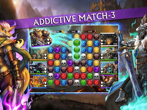 Gems of War - Match 3 RPG screenshots 13