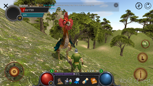 Code Triche World Of Rest: Online RPG mod apk screenshots 5