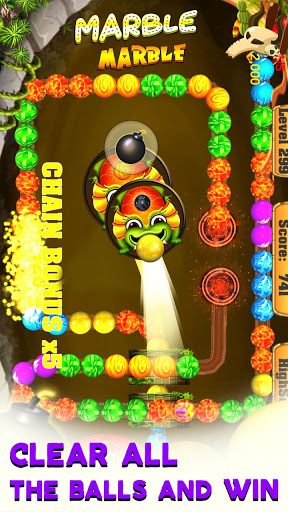 Marble Marble:Bubble pop game, Bubble shooter FREE 1.5.3 screenshots 4
