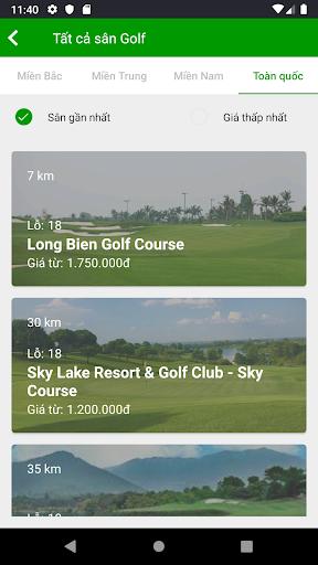 fastee : golf tee time booking screenshot 2
