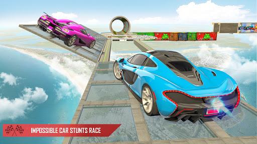 Crazy Car Stunts 3D : Mega Ramps Stunt Car Games 1.0.3 Screenshots 4
