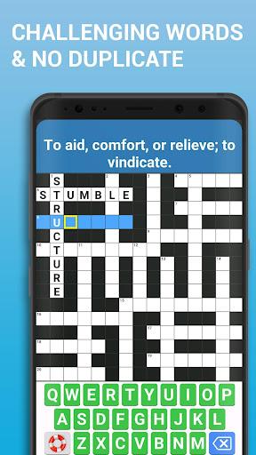 Crossword Puzzle Free Classic Word Game Offline 3.8 screenshots 2