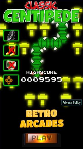 Classic Centipede 1.18 screenshots 1