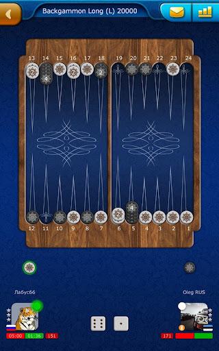 Backgammon LiveGames - live free online game 4.01 screenshots 19