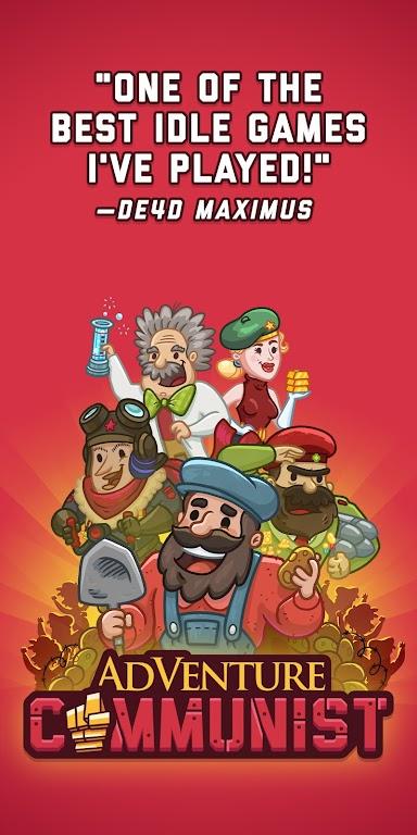 AdVenture Communist: Idle Clicker  poster 8