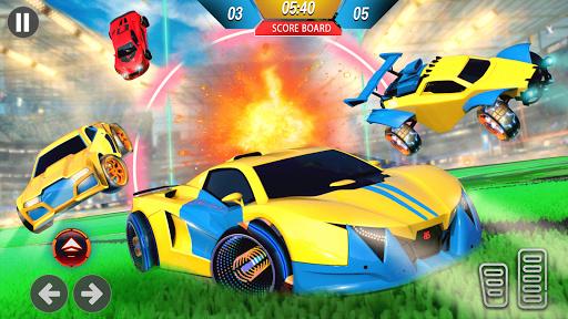 Rocket Car Ball League - 3D Car Soccer Game  screenshots 3