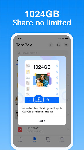 TeraBox Cloud Storage: Cloud Backup & Data backup apktram screenshots 3