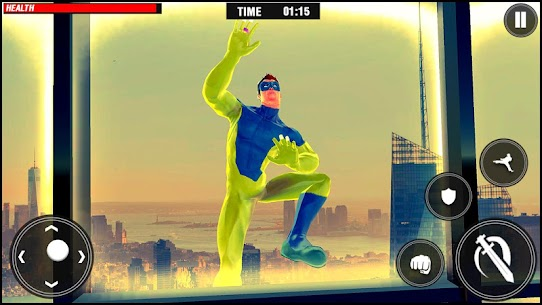 Frog Rope Ninja Hero : Ninja Hero Gangster Fight 2