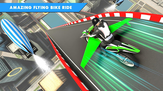 Flying Bike Stunt Racing- Impossible Stunt Games 2.1 Screenshots 12