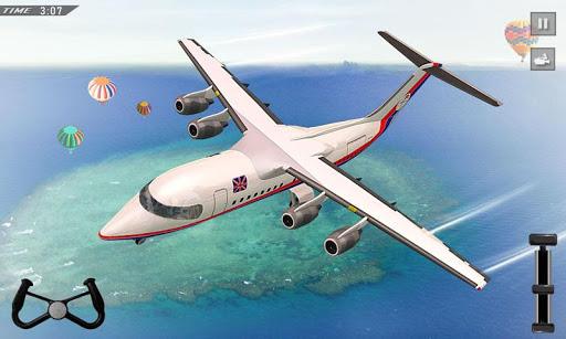 Flight Simulator 3D: Flight Pilot Airplane Games APK MOD – Pièces de Monnaie Illimitées (Astuce) screenshots hack proof 2