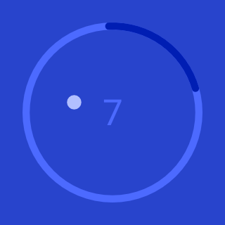 Circle Pong for Wear OS by Googleu2122 (Android Wearu2122) 1.3 screenshots 2