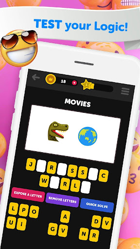 Guess The Emoji - Trivia and Guessing Game! 9.52 screenshots 4