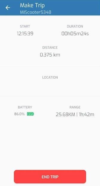 Captura de Pantalla 6 de MOB kickscooters para android
