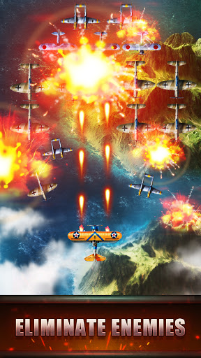 Top Fighter: WWII airplane Shooter modavailable screenshots 1
