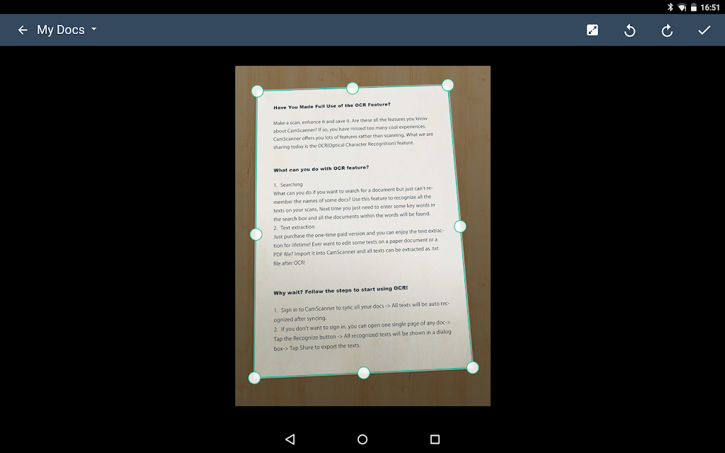 CamScanner - Scanner to scan PDF  poster 14