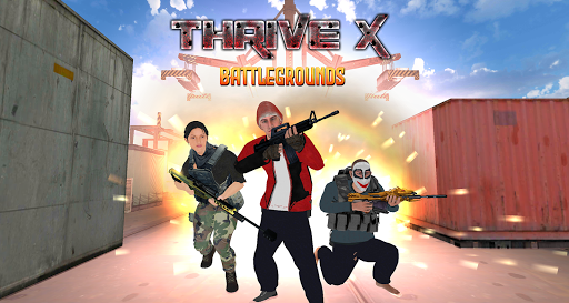ThriveX Survival - Battlegrounds Royale screenshots 1