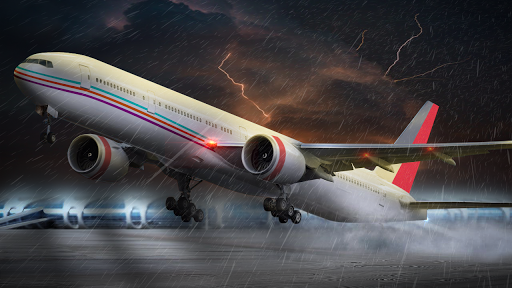 Flight Plane Simulator 3D : Airplane Flying Sim apktram screenshots 2