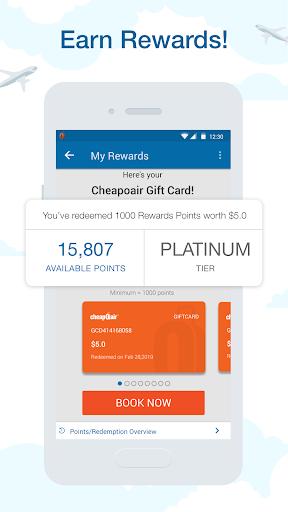 CheapOair: Cheap Flights, Cheap Hotels Booking App 3.20.18 Screenshots 6