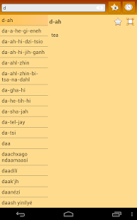 English Navajo Dictionary
