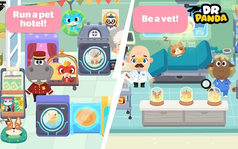 Dr. Panda Town  Pet World Apk Download NEW 2021 4