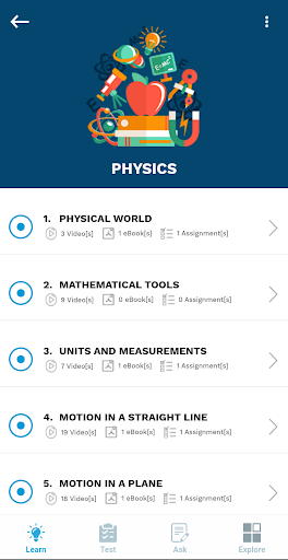 Aakash iTutor Learning App - NEET/JEE & Class 8-10 7.2.3 Screenshots 6