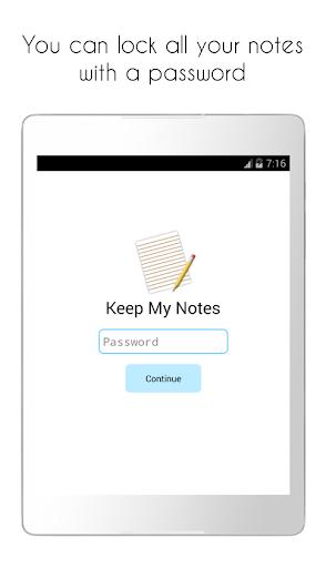 Keep My Notes - Notepad, Memo and Checklist modavailable screenshots 12